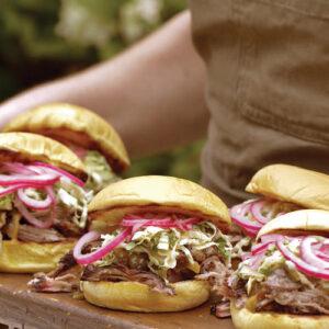 Braised Pork Sandwich