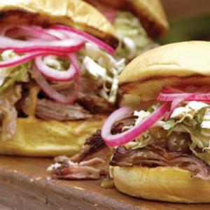 Milk Pork Butt Sandwich