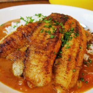 Redfish Courtbouillon